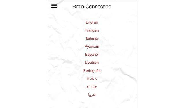 Visuel du projet Brain Connection