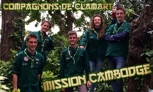 Visueel van project Compagnons de Clamart : Mission Cambodge !