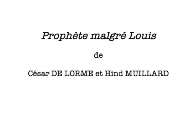 Visueel van project Prophète Malgré Louis
