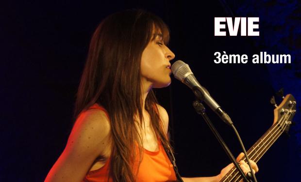 Visueel van project EVIE - production du 3ème EP