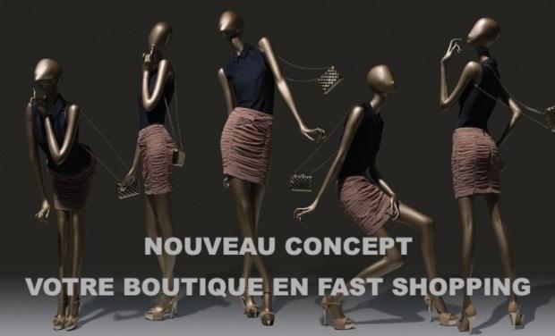 Project visual Lancement d'un nouveau concept de shopping