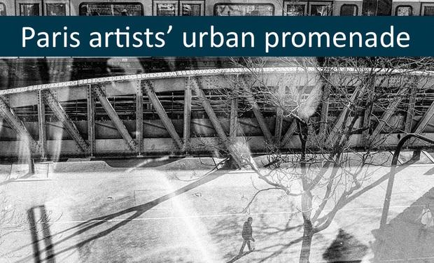 "Visuel du projet Exhibition ""Paris artists' urban promenade"" - Do a good deed and we'll guide you through Paris!"
