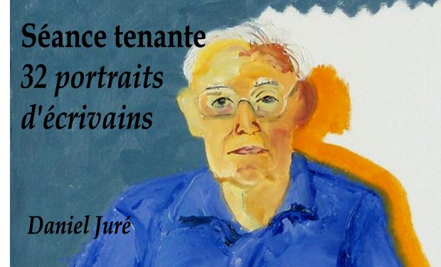 Visuel du projet Séance tenante, 32 portraits d'écrivains renommés, une collection inédite !