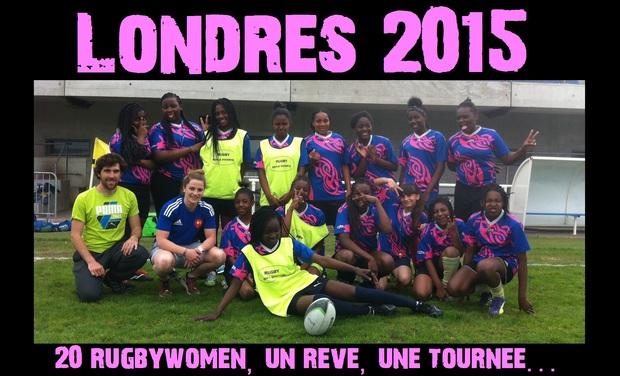 """Visuel du projet """"Londres 2015, vingt rugbywomen, un rêve, une tournée..."""""""