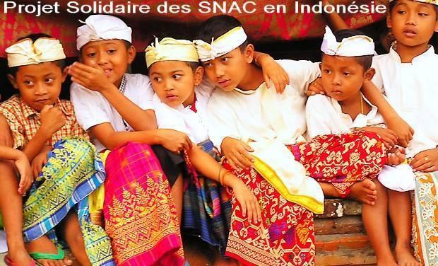 Project visual Projet Solidaire des SNAC en Indonésie