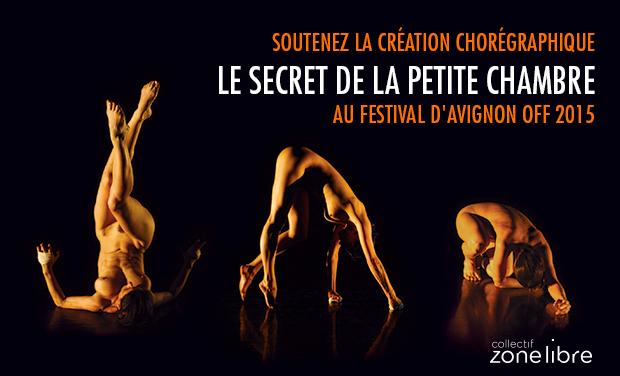 Visuel du projet Le secret de la petite chambre - Avignon 2015