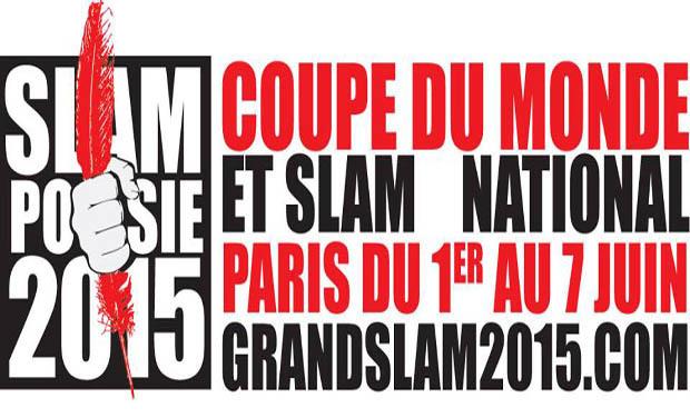Visuel du projet Coupe du Monde de Poésie et Slam National 2015 du 1 au 7 Juin