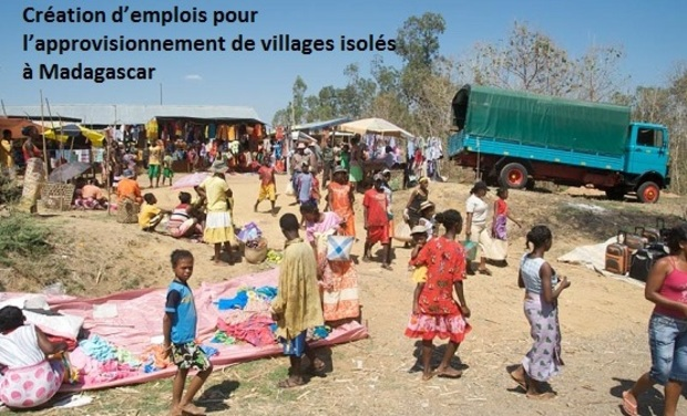 Visuel du projet Création d'emplois pour l'approvisionnement de villages isolés à Madagascar
