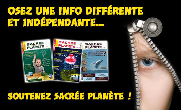 Visuel du projet Magazine SACREE PLANETE