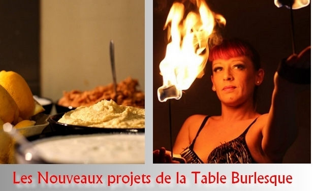 Visuel du projet Les nouveaux projets de la Table Burlesque