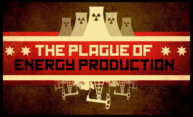 Project visual The plague of energy production