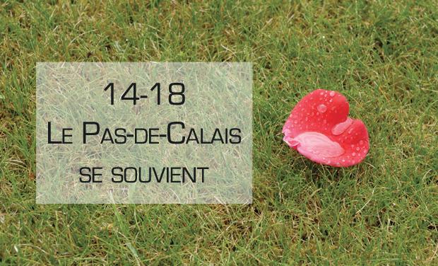 Visuel du projet 14-18, le Pas-de-Calais se souvient