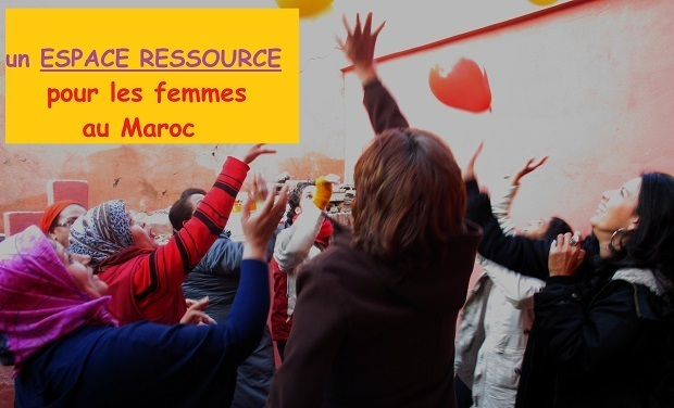 Visuel du projet l'incubatrice, un espace ressource pour les femmes marocaines