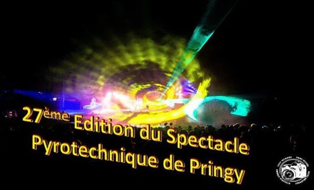 Project visual 27ème Edition du Spectacle Pyrotechnique de Pringy