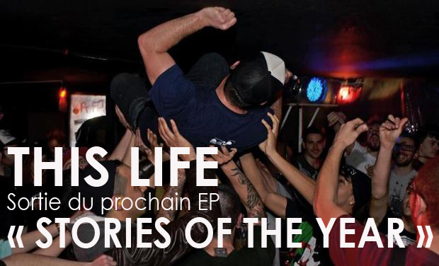 """Project visual Sortie de l'EP """"STORIES OF THE YEAR"""""""