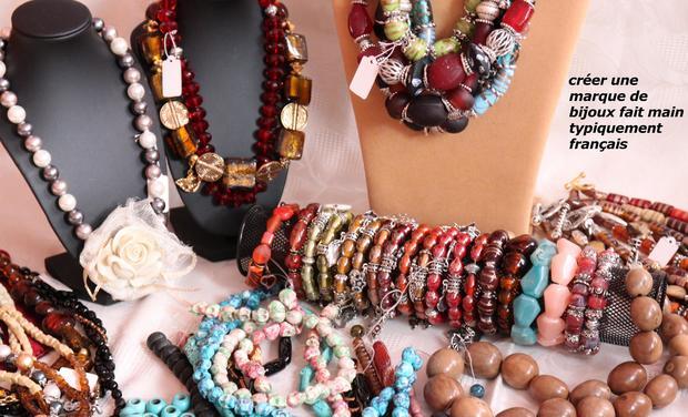 Visuel du projet Créer et développer une marque de bijoux fait main typiquement Française.