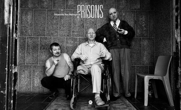 Visuel du projet PRISONS de Sébastien Van Malleghem le livre