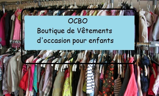Project visual OCBO Boutique de vêtements d'occasion pour enfants