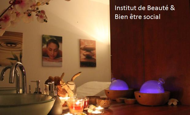 Visuel du projet Institut de beauté & bien être social