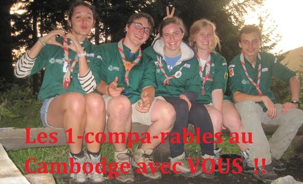 Visuel du projet Let's go to Cambodia avec les Compagnons de la 5eme Mulhouse