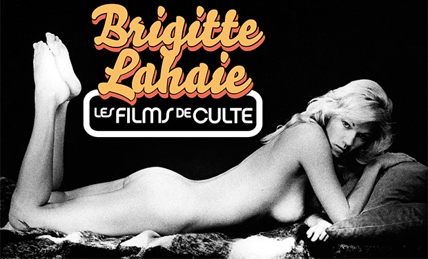 Project visual Brigitte Lahaie, les films de culte