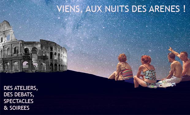 Project visual Les Nuits des Arènes