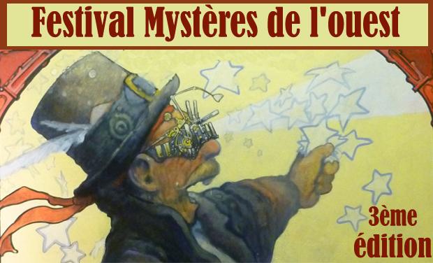 Visueel van project Mystères de l'Ouest, 3ème édition!
