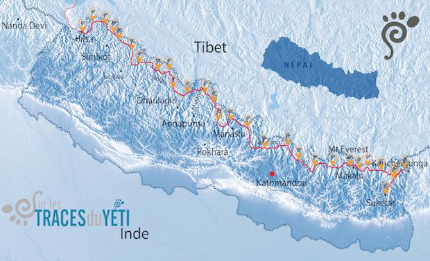 Visuel du projet Sur les traces du Yéti