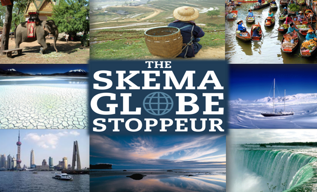Project visual Skema Globe Stoppeur