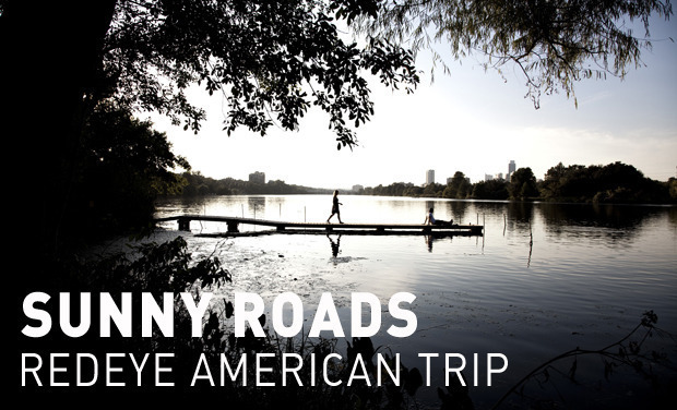 Project visual Sunny Roads - RedEye American Trip