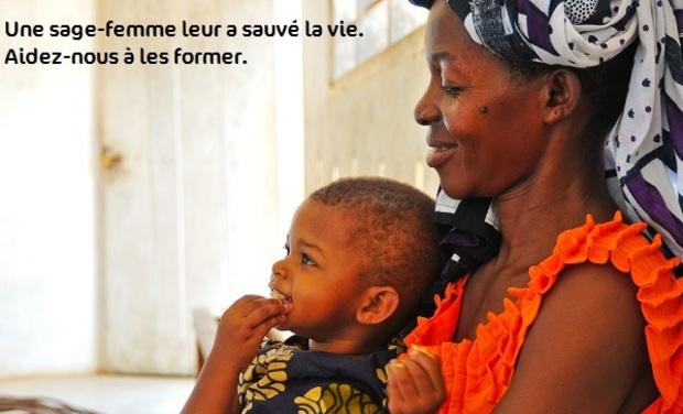 Visuel du projet AMREF Flying Doctors - Une sage-femme leur a sauvé la vie. Aidez-nous à les former.