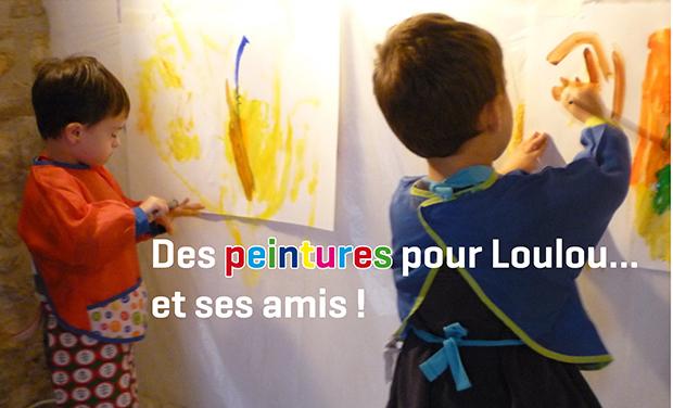 Visuel du projet Des peintures pour Loulou... et ses amis !