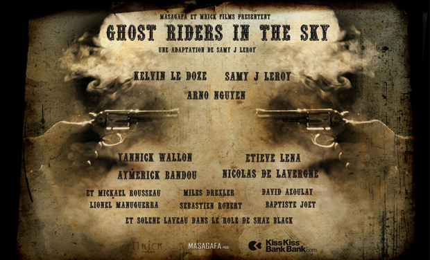 Project visual Ghost Riders in the Sky