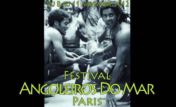 Project visual FESTIVAL ANGOLEIROS DO MAR - Paris