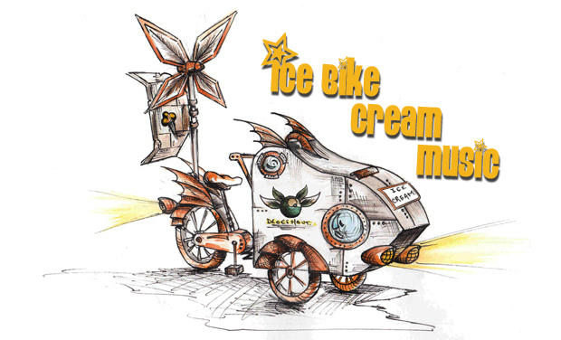 Visuel du projet Ice Bike Cream Music