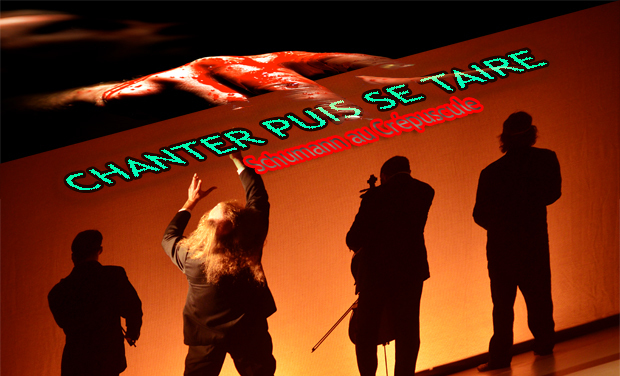 Visuel du projet Emporté par La Houle,  le spectacle CHANTER PUIS SE TAIRE part au festival d'Avignon! Soyez avec nous!