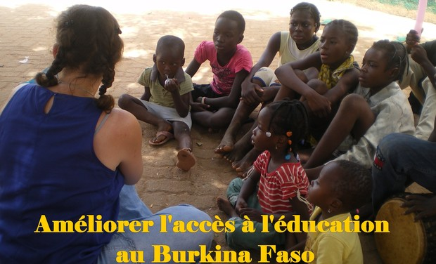 Visuel du projet Améliorer l'accès à l'éducation au Burkina Faso
