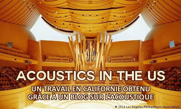Visuel du projet Acoustics in the US