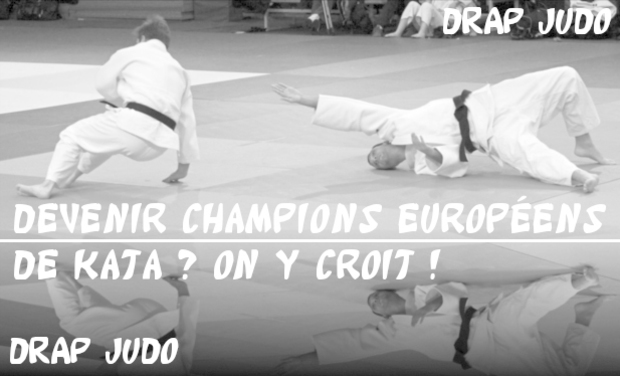 Visueel van project Devenir champions européens de Kata ? On y croit !