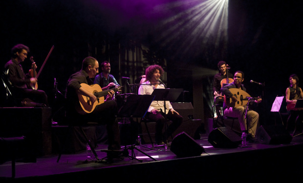 Project visual Premier album de Lakhdar Hanou Ensemble