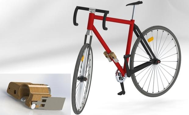 Project visual Dérailleur automatique de vélo