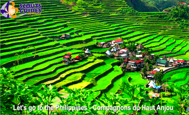 Visueel van project Let's go to the Philippines - Projet des compagnons du Haut-Anjou