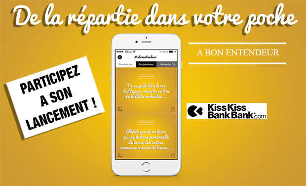Visueel van project L'application A Bon Entendeur