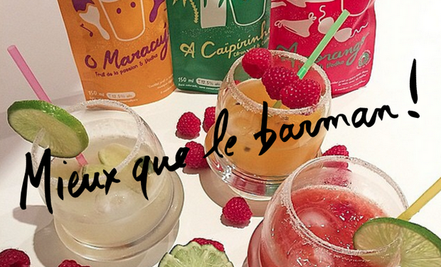 Project visual Mieux que le Barman ! Bacanha Cocktails