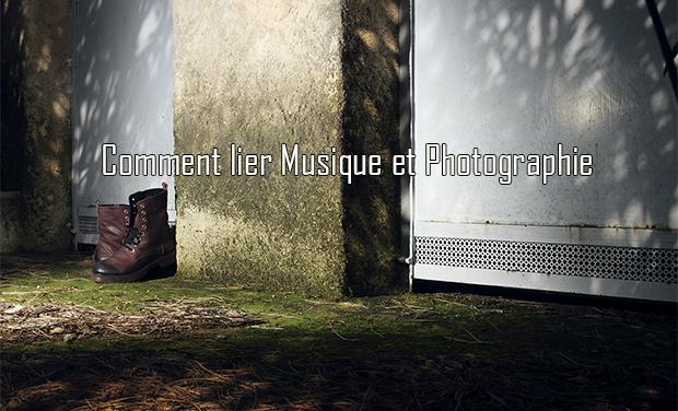 Visuel du projet un lien entre musique et photographie