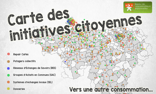 Project visual Carte des initiatives citoyennes