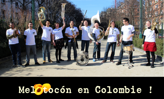 Visueel van project Melotocón en Colombie !