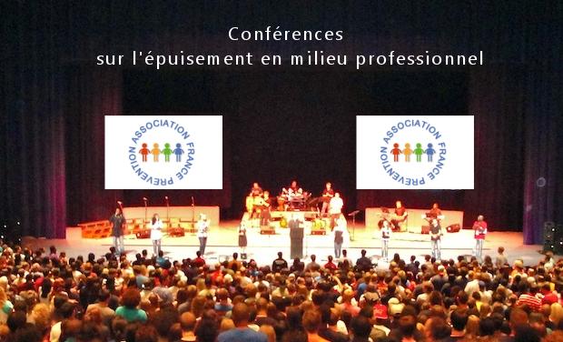 Project visual Conférences  et Solidarité contre l'épuisement pro.