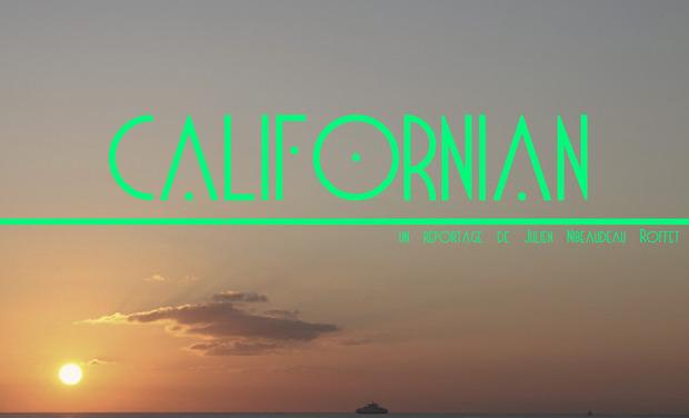 """Visueel van project """"Californian"""""""