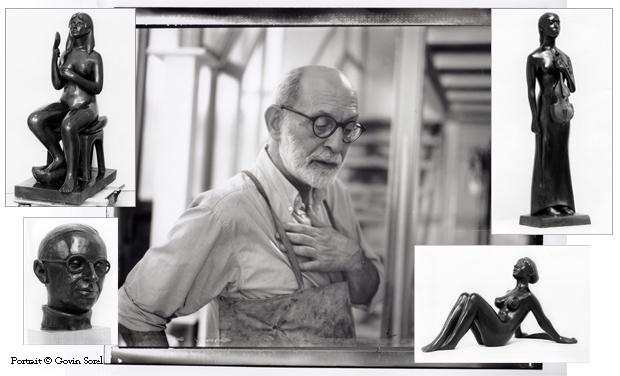 """Visueel van project Joseph Erhardy """"Une Vie de Sculpteur"""""""
